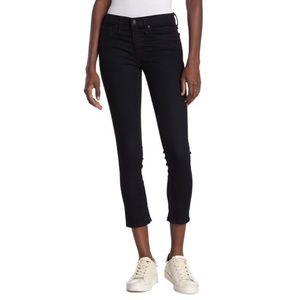 NWT Rag & Bone Zip Hem Capri Navy Skinny Jeans 31
